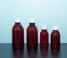 Health care products packaging plastic bottles